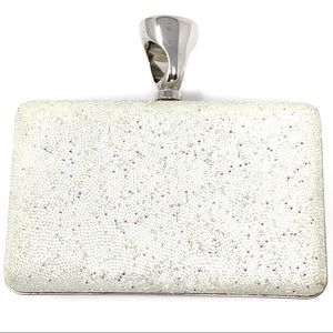 Tom Ford Ring Crystal Glass Minaudiere Clutch Bag